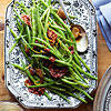 Green Beans with Pancetta with Brown Butter
