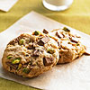 Jumbo Pistachio and Milk Chocolate Chunk Cookies