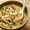 Creamy Roasted Chicken, Potato, and Noodle Soup