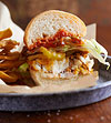Fish Tortas with Mexican Cocktail Sauce