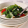 Arugula and Tomato Salad with Champagne Vinaigrette