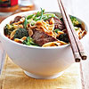 Spicy Beef and Broccoli Noodle Bowl