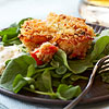 Crab Cakes with Orange Aioli