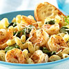Lemon Pepper Pasta with Shrimp