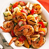 Lemon Shrimp and Bread Salad