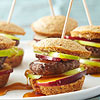 Maple Corn Muffin and Sausage Sandwiches