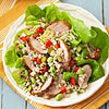 Pork Barley Salad