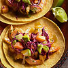 Garlic Shrimp and Crab Tacos