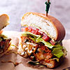 Chorizo-Chicken Burger
