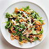 Whole Grain Farfalle with Walnuts and Arugula