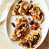 Pita with Figs, Caramelized Onions, and Ricotta