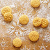 Orange-Saffron Stamp Cookies