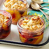 Mini Peach-Berry Cobblers