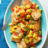 Caribbean White Fish with Mango-Orange Relish