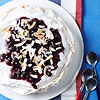 Blueberry-Coconut Pavlova