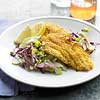 Gluten-Free Crisp Catfish with Apple-Celery Slaw