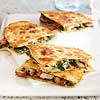 Pork and Veggie Quesadillas