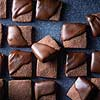Cocoa and Brown Butter Shortbread Bites