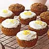 Zucchini Cupcakes with Greek Yogurt Frosting