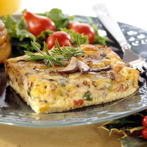 Mushroom-and-Egg Casserole