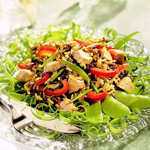 Wild Rice-Chicken Salad