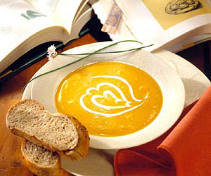 Steaming Sweet Butternut Bisque