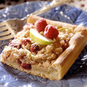Fruity Streusel-Topped Coffee Cake