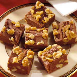 Cream Cheese-Rum Fudge