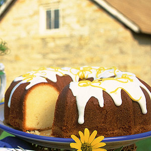 Lemony Prairie Cake