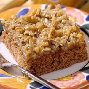 Prairie State Oatmeal Cake