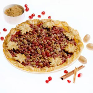 Wisconsin Cranberry-Nut Pie