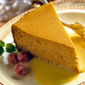 Party-Time Pumpkin Cheesecake