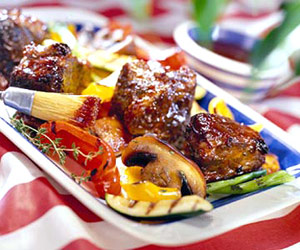 Short Ribs with Molasses-Beer Barbecue Sauce