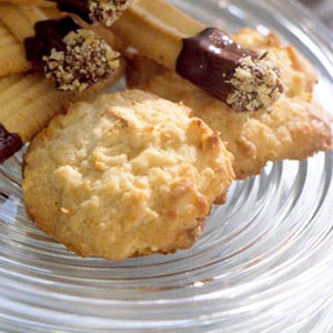 Macadamia Tea Cookies