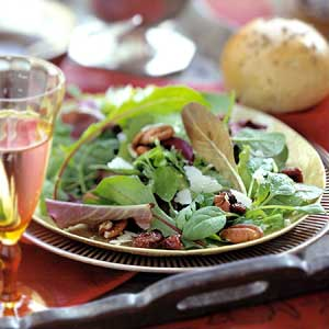 Cherry-Pecan Tossed Salad