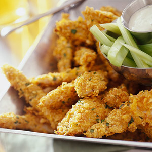 Buffalo-Style Chicken Fingers