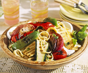Grilled Veggie Pasta Salad