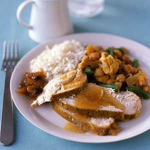 Turkey & Curried Vegetables