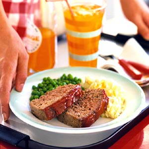 Ketchup-Glazed Meat Loaf