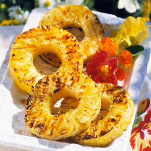 Hot-Off-The-Grill Tropical Treat