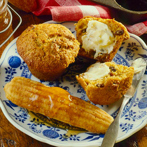 Bavarian Honey-Bran Muffins
