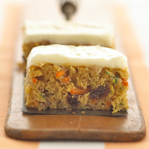 Carrot-Zucchini Bars