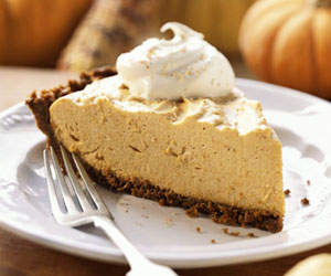 Pumpkin Chiffon Pie
