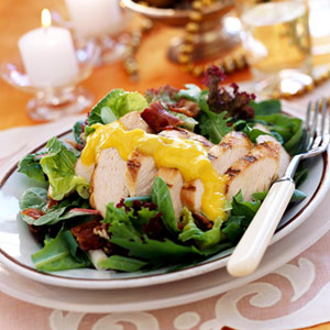 Yuletide Mango Chicken Salad