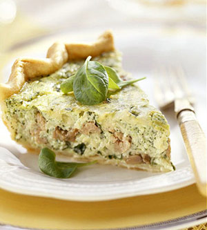 Spinach Quiche a la Goldmoor