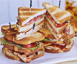 Blackened Chicken Club