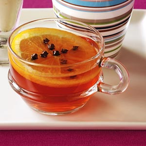 Hot Spiced Cranberry-Apple Cider