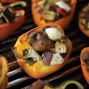 grilled stuffed-pepper salad