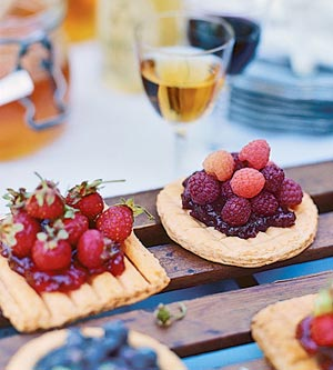 Individual Fruit Tarts