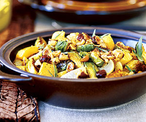 Roasted Autumn Vegetables with Hazelnut-Browned Butter